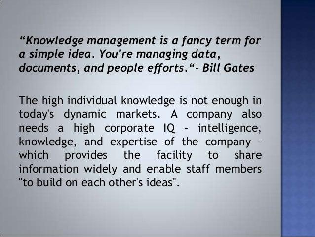 microsoft knowledge management