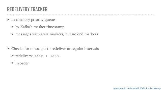 Kafka as a message queue