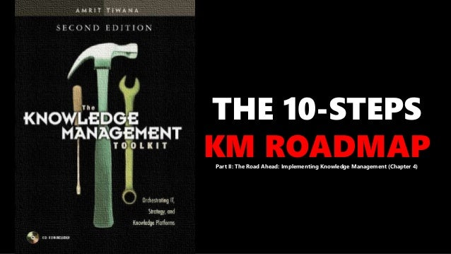 THE 10-STEPS KM ROADMAPPart II: The Road Ahead: Implementing Knowledge Management (Chapter 4)