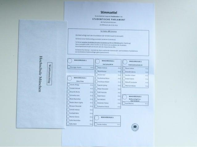 Kandidaten vertrauen  • Was hat die- oder derjenige bisher geleistet? Was  qualifiziert sie oder ihn für den Posten?  • En...