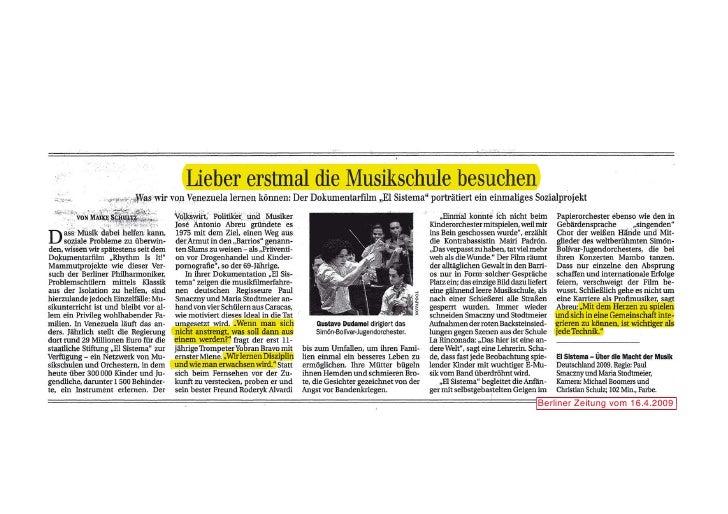 Berliner Zeitung vom 16.4.2009