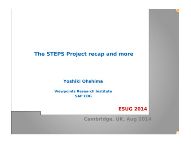 The STEPS Project recap and more