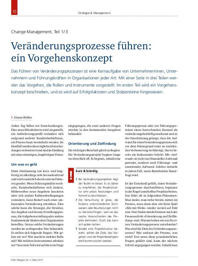 KMU-Magazin Nr. 3, März 2015 10 Strategie & Management Jeden Tag fällen wir Entscheidungen. Eine neue Mitarbeiterin wird e...