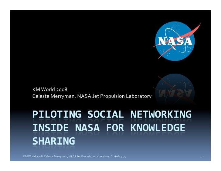 KMWorld2008       CelesteMerryman,NASAJetPropulsionLaboratory     KMWorld2008,CelesteMerryman,NASAJetPropu...