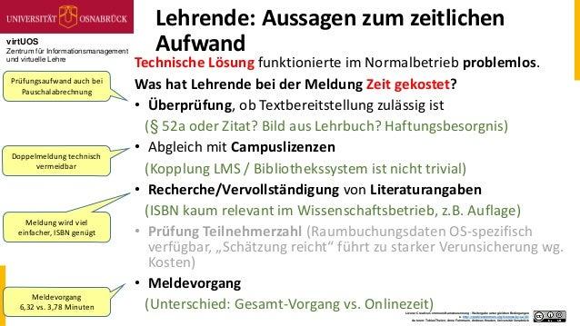 virtUOS Zentrum für Informationsmanagement und virtuelle Lehre Lizenz: Creative Commons Namensnennung - Weitergabe unter g...