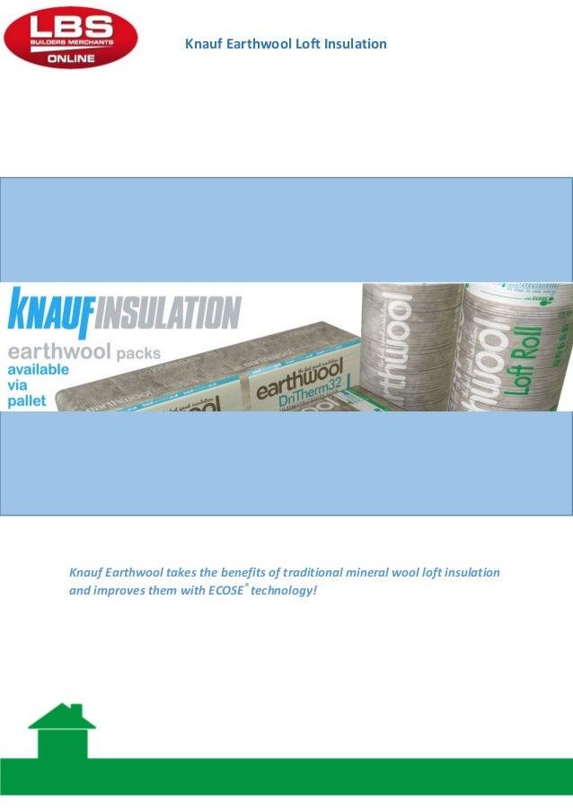 knauf earthwool insulation guide. Black Bedroom Furniture Sets. Home Design Ideas