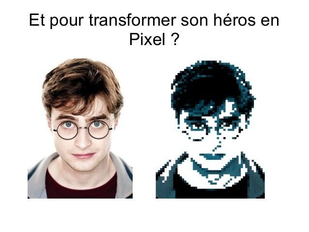 Transformer Un Dessin En Pixel Art