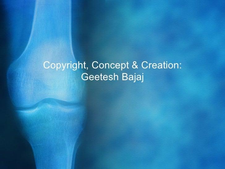 Knee x ray powerpoint presentation template copyright concept creation geetesh bajaj toneelgroepblik Image collections
