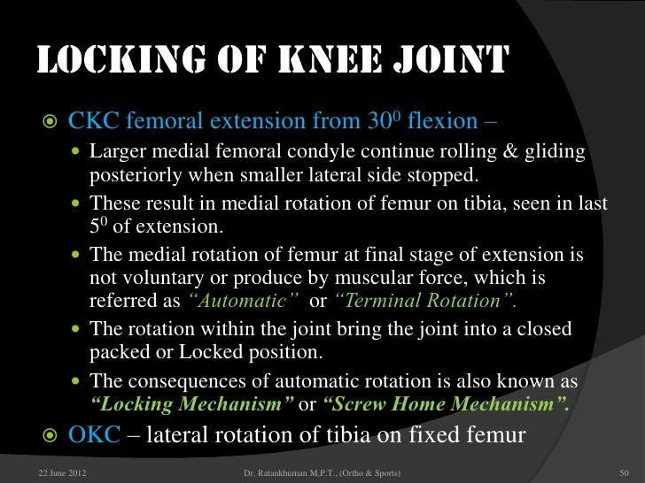 Knee biomechanic 50 locking of knee ccuart Image collections