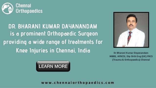 Treatment for Knee Injury in Chennai | Best Orthopaedic