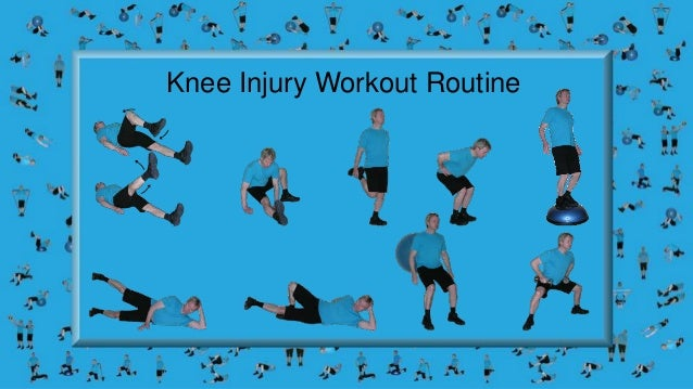 Knee Injury Rehabilitation And A Home Workout Routine