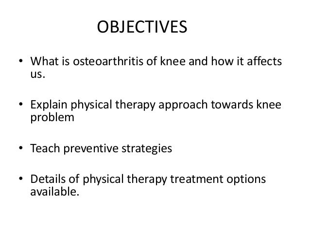 Knee problems & physiotherapy (kunjal shah) Slide 2