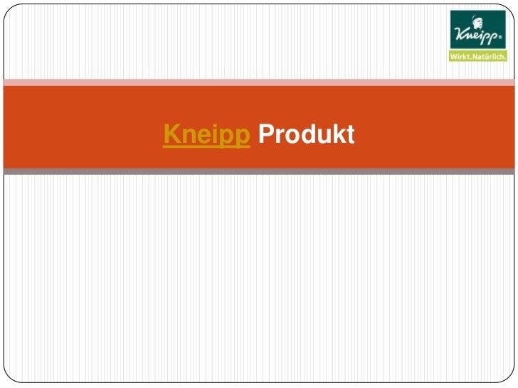 Kneipp Produkt