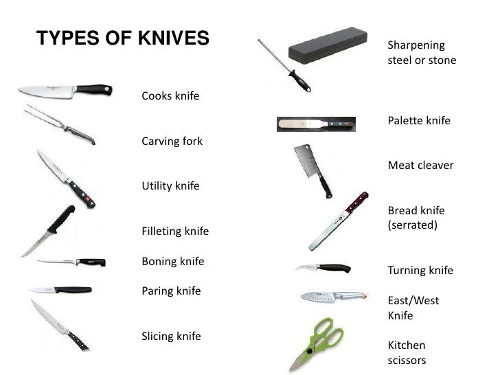 Knife skills cuts