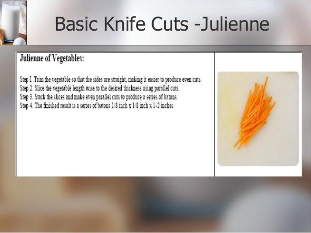 Knife skills powerpoint