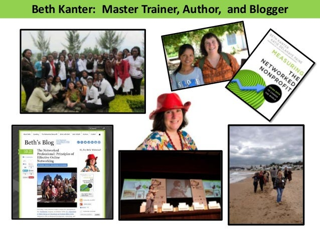 Beth Kanter: Master Trainer, Author, and Blogger