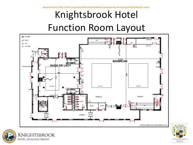 Knightsbrook Hotel Conference Venue Layout Plan