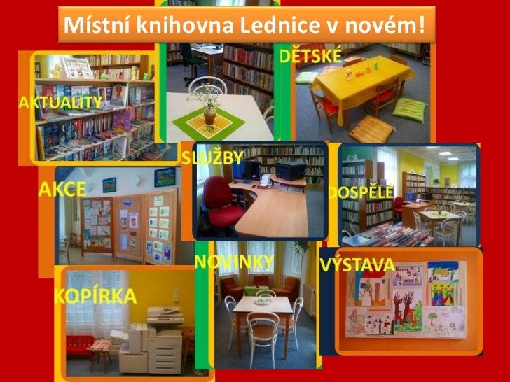 Místní knihovna Lednice v novém!