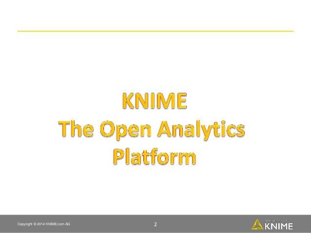 Knime customer intelligence on social media odsc london    Slide 2