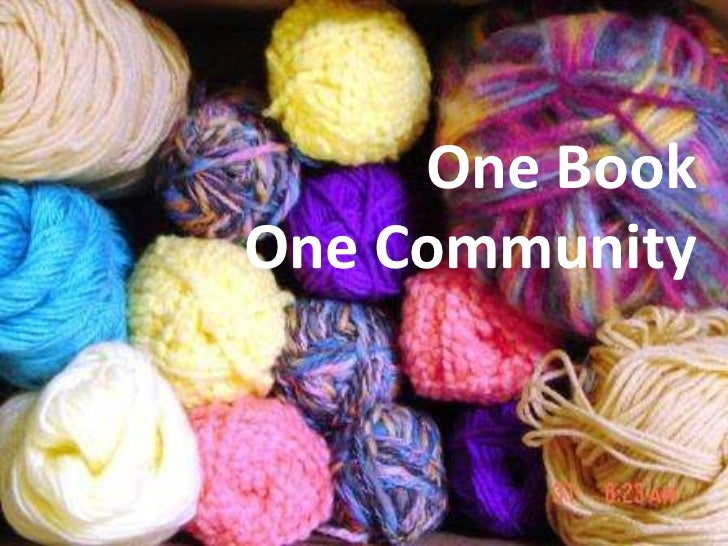 One Book One Community<br />