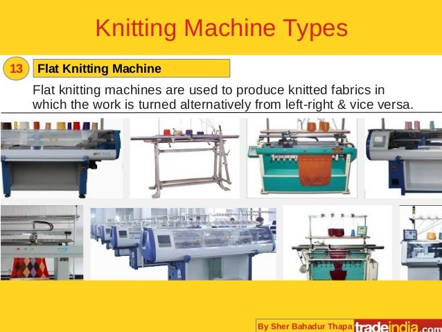 Knitting Machines Unlimited : Knitting machines buying guide for suppliers