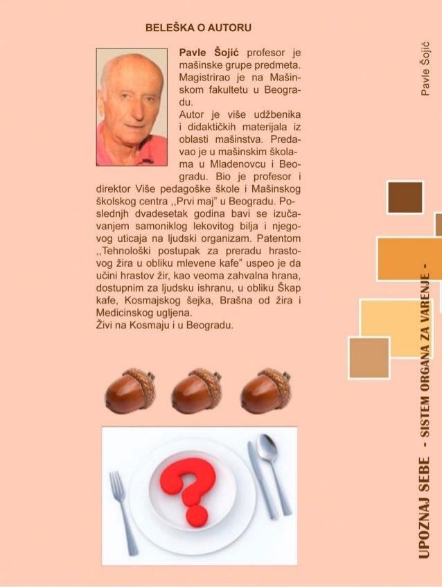 Knjiga Upoznaj sebe - sistem organa za varenje Slide 2