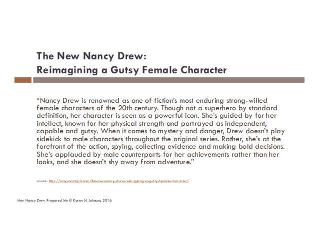 Karen N Johnson Keynote address QA or the Highway 2016: How Nancy Drew prepared me to become a software tester Slide 3