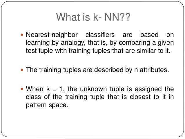 k nearest neighbor python numpy