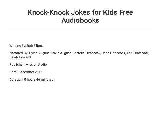 Dating knock knock jokes