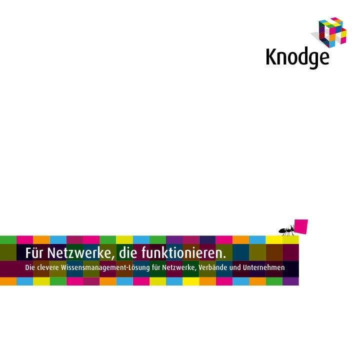 Wissensmanagement von Netzwerkern für Netzwerker