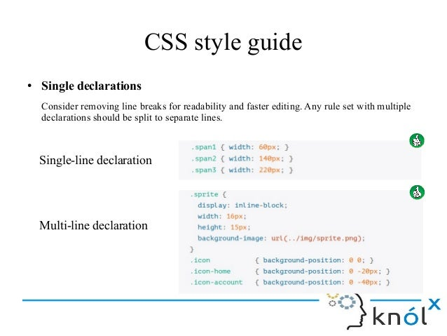 HTML5, CSS, JavaScript Style guide and coding conventions