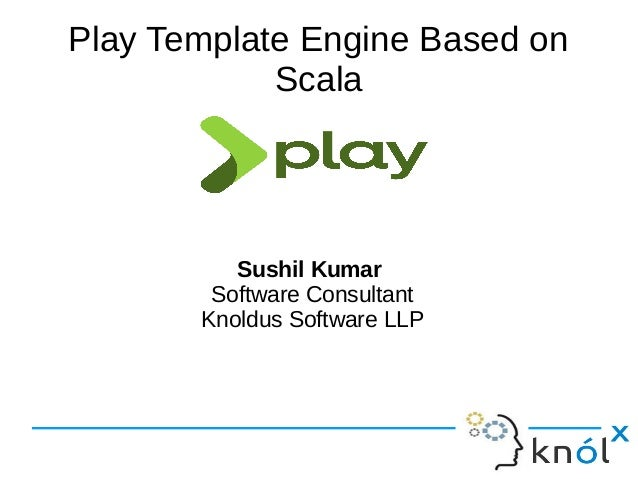 Play Template Engine Based On Scala