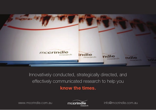 Innovatively conducted, strategically directed, and        effectively communicated research to help you                  ...