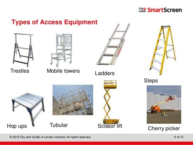Know About Access Equipment And Working At Heights And