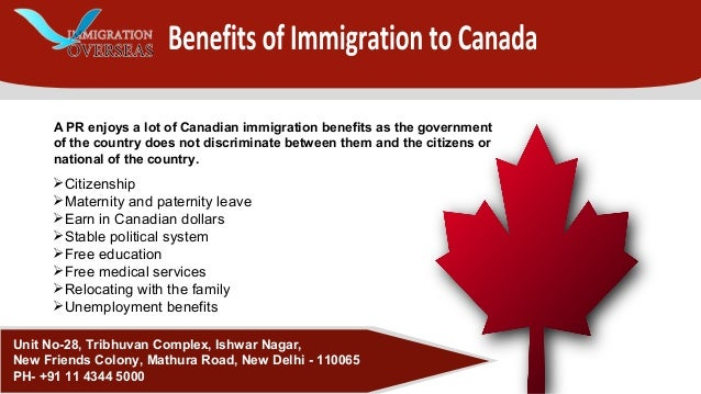 immigration a benefit for canada Information on immigration & visas in france & french law firms who specialise in french immigration & visa canada, korea, japan, malaysia, mexico, new zealand.