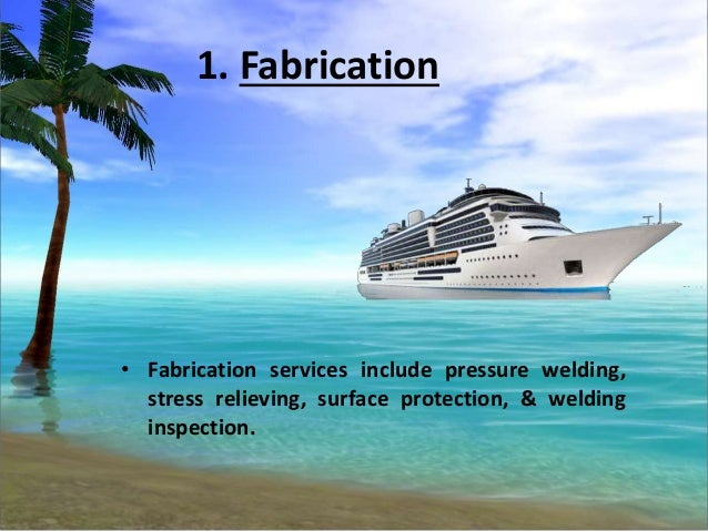 Know about the different sectors of marine engineering services Slide 3