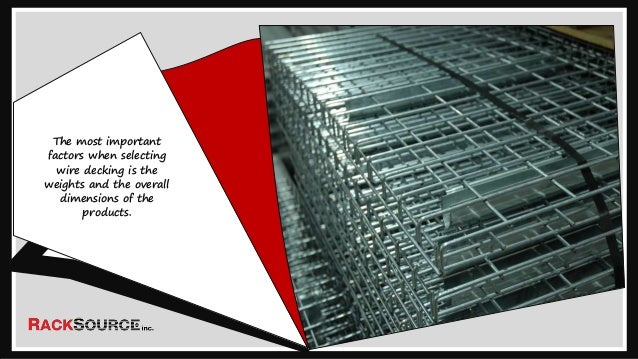 Know About The Different Types Of Wire Decking