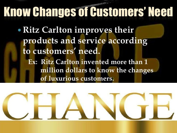 Know Changes Of Customers' Need Slide 2