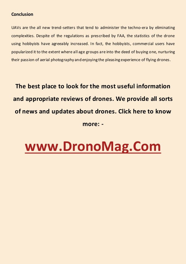 Know everything about drones Slide 3