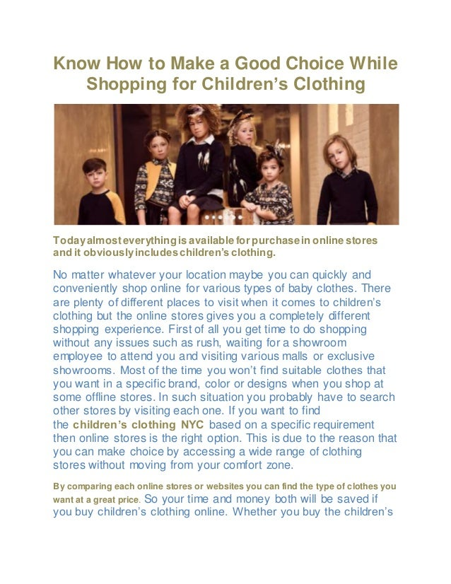 How to make an online clothing store successful