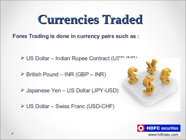 How to trade in currency