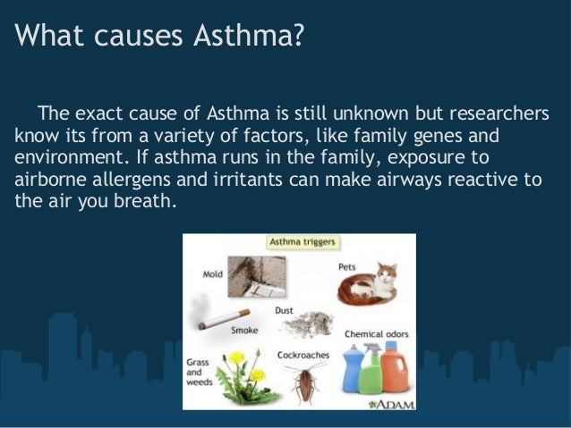 how is asthma transmitted