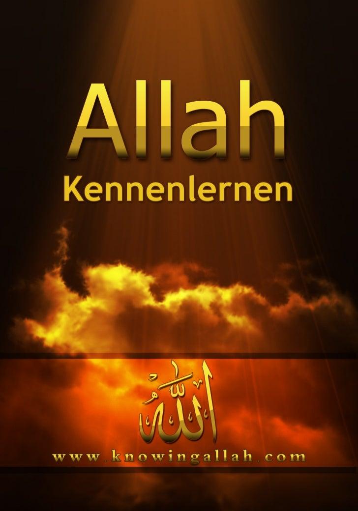 InhaltWer ist AllahWer ist Allah ? Soliman Ashkar ........................................................Sind Gott Grenze...