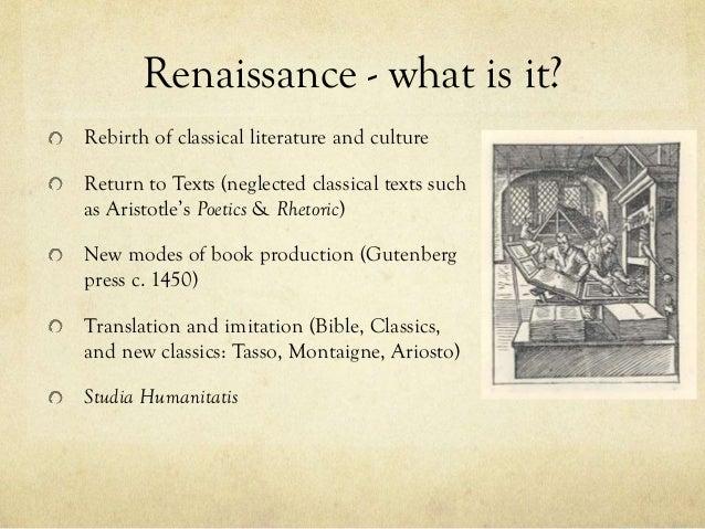 Humanism in the renaissance literature book