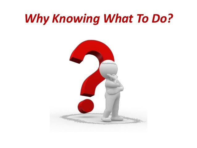 Knowing What to Do Clip Art