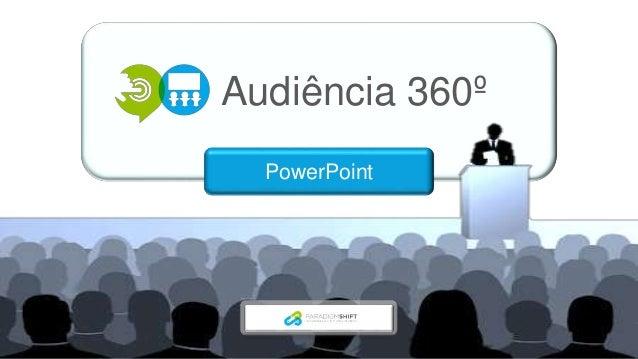 Audiência 360º PowerPoint