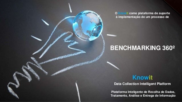 O Knowit como plataforma de suporte à implementação de um processo de BENCHMARKING 360º Knowit Data Collection Intelligent...