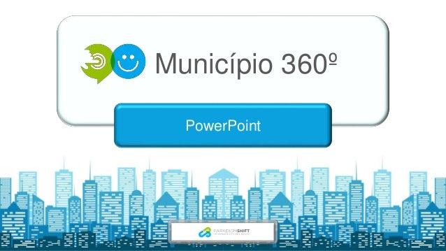 Município 360º PowerPoint