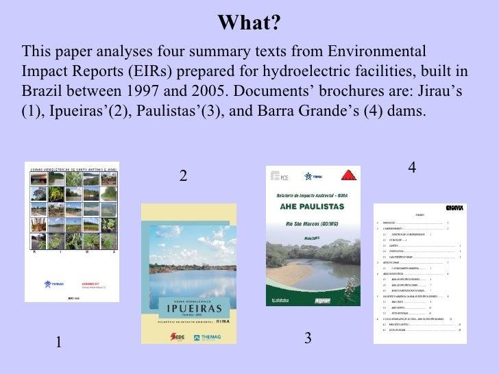 case study of the akosombo hydroelectric dam environmental sciences essay Transcript 1 university of ghana (motto: integri procedamus) established: ad 1948 the arms of the university the university logo.