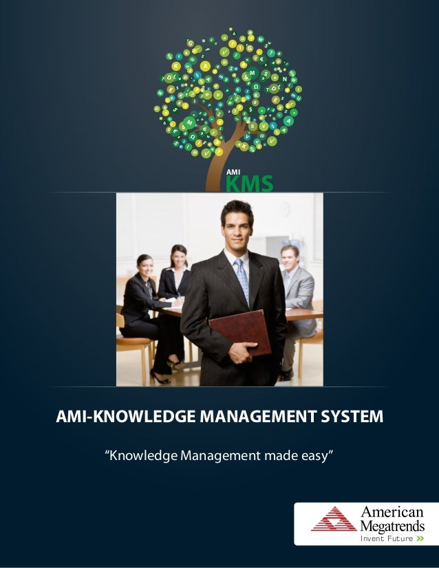 "AMI-KNOWLEDGE MANAGEMENT SYSTEM""Knowledge Management made easy""TreyLg6HAfZa6iSAL@%%%Pg2d3z k5445#5%781bz950AOFZ+UNdK¾Æ%7sK..."